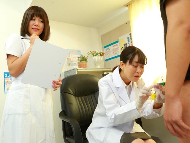 美人の先生がいる皮膚科に行って腫れたチンコを診てもらう流れでヌイてもらいたい(10)